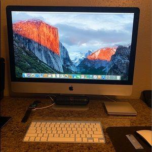 iMac size 27inch